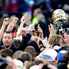 "The CU fans salute the Buffs on Saturday.<br /> For more photos of the Buffs, go to  <a href=""http://www.dailycamera.com"">http://www.dailycamera.com</a><br /> Cliff Grassmick / November 12, 2011"