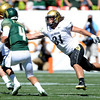 "Jon Major (31) of CU, tries to sack Pete Thomas of CSU.<br /> For more  photos of the game, go to  <a href=""http://www.dailycamera.com"">http://www.dailycamera.com</a><br /> Cliff Grassmick / September 4, 2010"