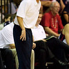 Gonzaga basketball head coach Mark Few directs his team in the second half in their game at the Maui Invitational NCAA college basketball tournament on Monday, Nov. 23, 2009. Gonzaga defeated Colorado 76-72.  (AP Photo/Eugene Tanner)