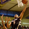 Colorado forward Marcus Relphorde (5) grabs a rebound in the second half in their game at the Maui Invitational NCAA college basketball tournament on Monday, Nov. 23, 2009. Gonzaga defeated Colorado 76-72.  (AP Photo/Eugene Tanner)