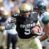 "Rodney Stewart of CU  ran for over 100 yards against Hawaii.<br /> For more photos from the game, go to  <a href=""http://www.dailycamera.com"">http://www.dailycamera.com</a>.<br />  Cliff Grassmick / September 18, 2010"