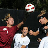 "Keeper Carianne Betts, left, of Purdue, knocks away a head shot by Amy Barczuk of Colorado on Friday.<br /> For more photos from the game, go to  <a href=""http://www.dailycamera.com"">http://www.dailycamera.com</a>.<br />  Cliff Grassmick / September 17, 2010"