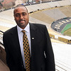 "New University of Colorado football coach, Jon Embree.<br /> For more photos of the press conference, go to  <a href=""http://www.dailycamera.com"">http://www.dailycamera.com</a>.<br /> Cliff Grassmick / December 6, 2010"