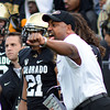 "Colorado Stanford Football258.JPG Coach Jon Embree coaches his team in the Stanford game.<br /> For more photos of the game, go to  <a href=""http://www.dailycamera.com"">http://www.dailycamera.com</a>.<br /> Cliff Grassmick / November3, 2012"