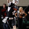 Oklahoma State's Brandon Weeden passes against Colorado in the third quarter of an NCAA college football game in Stillwater, Okla., Thursday, Nov. 19, 2009. Oklahoma State won the game 31-28. Weeden threw for 168 yards and two touchdowns in the second half. (AP Photo/Sue Ogrocki)