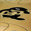 "The Sox Walseth Court in the Coors Events Center has the new Pac-12 symbols.<br /> The University of Colorado Athletic Department held the grand opening of the new practice facilities for volleyball and basketball on Saturday.<br /> For more photos of the new facility, go to  <a href=""http://www.dailycamera.com"">http://www.dailycamera.com</a><br /> Cliff Grassmick / August 20, 2011"