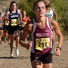 "Former Fairview runner, Alexis Skarda, now of Mesa State, runs in the 2010 Rocky Mountain Shootout.<br /> For more photos from the race, go to  <a href=""http://www.dailycamera.com"">http://www.dailycamera.com</a>.<br />  Cliff Grassmick / October 2, 2010"