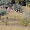"The women run up the hill during the Rocky Mountain Shootout on Saturday.<br /> For more photos from the race, go to  <a href=""http://www.dailycamera.com"">http://www.dailycamera.com</a>.<br />  Cliff Grassmick / October 2, 2010"