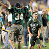 CSU fans rushed Folsom Field after the upset win over Colorado.<br /> Cliff Grassmick / September 6, 2009