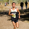 CU junior Richard Medina runs the course at the Rocky Mountain Shootout Cross Country race at the University of Colorado's south campus, Saturday, Oct. 3, 2009. <br /> KASIA BROUSSALIAN / THE CAMERA