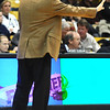 CUTEX<br /> CU head coach Tad Boyle calls instructions to his players during the game against Texas-Pan American.<br /> Photo by Marty Caivano/Camera/Nov. 30, 2010