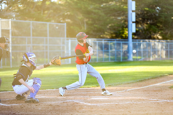 2019 CUHS Baseball - vs MB - Cameron-56