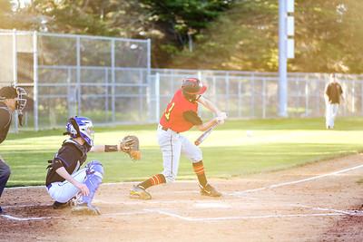 2019 CUHS Baseball - vs MB - Nate-73
