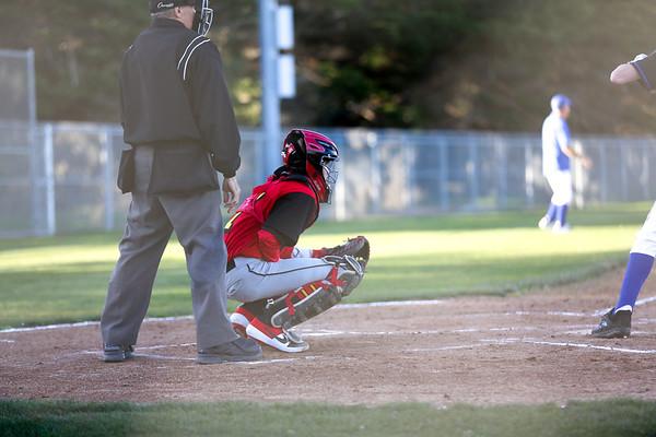 2019 CUHS Baseball - vs MB - Zach-59