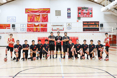 2019 Boys Volleyball Team-4