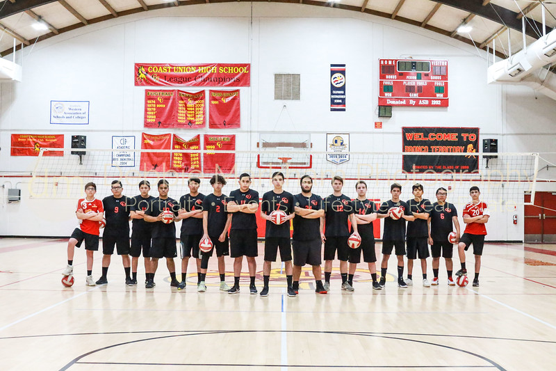 2019 Boys Volleyball Team-3
