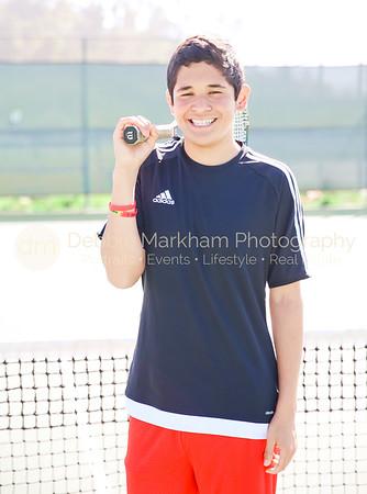 2017 Boys Tennis Varsity Players CUHS-7184
