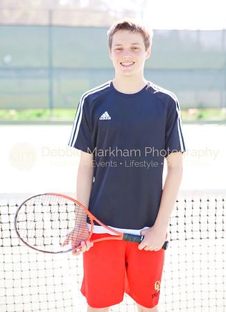 2017 Boys Tennis Varsity Players CUHS-7183