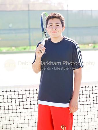 2017 Boys Tennis Varsity Players CUHS-7185
