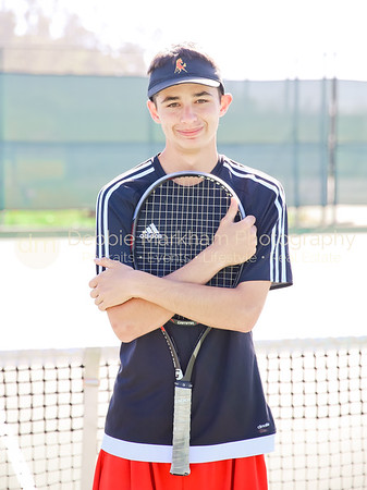 2017 Boys Tennis Varsity Players CUHS-7180