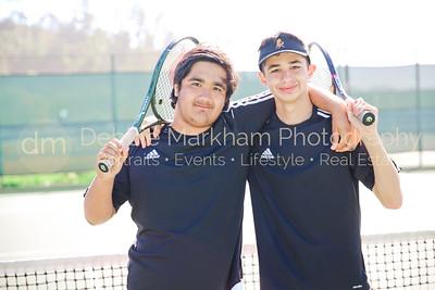 2017 Boys Tennis Varsity Players CUHS-7179