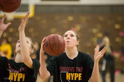 CW Girls Basketball vs. Bishop's 3/14/17