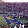 Game 1:  Cal Marching Band enters through North Tunnel