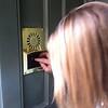 The secret button to enter Club 33.