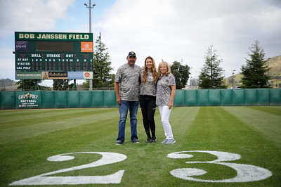 CAL POLY SOFTBALL SENIOR NIGHT, Bob Janssen Field