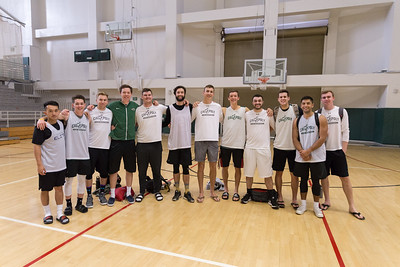 Club Men's Basketball Team photo. Photo by Alexander Bohlen.
