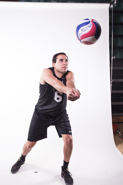 Club Volleyball Photoshoot