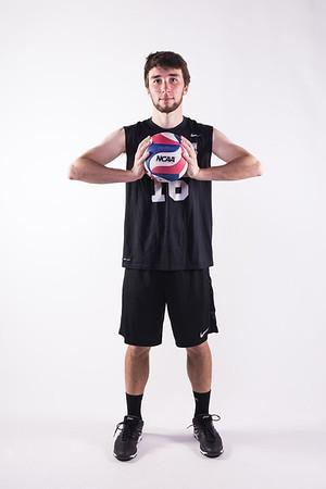 Club Volleyball Photoshoot