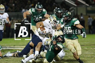 Cal Poly vs Davis at Alex G Spanos Stadium on Saturday, November 15, 2014. Photo by Alexander Bohlen