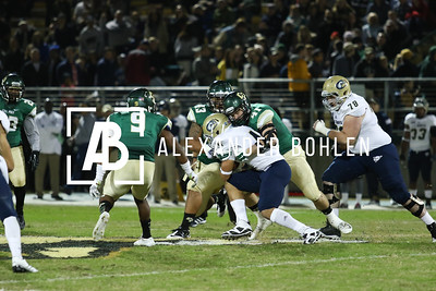 Cal Poly vs Davis at Alex G Spanos Stadium on Saturday, November 15, 2014. Photo by Alexander Bohlen