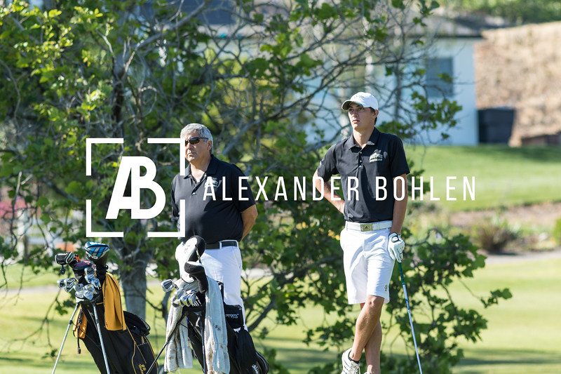 Cal Poly competes in Big West Golf Tournament. Photo by Alexander Bohlen