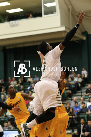 Cal Poly vs CSULB at Mott Gym, Cal Poly, February 14, 2015.