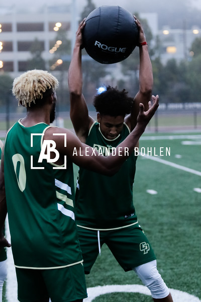CalPolyMensBasketballTraining