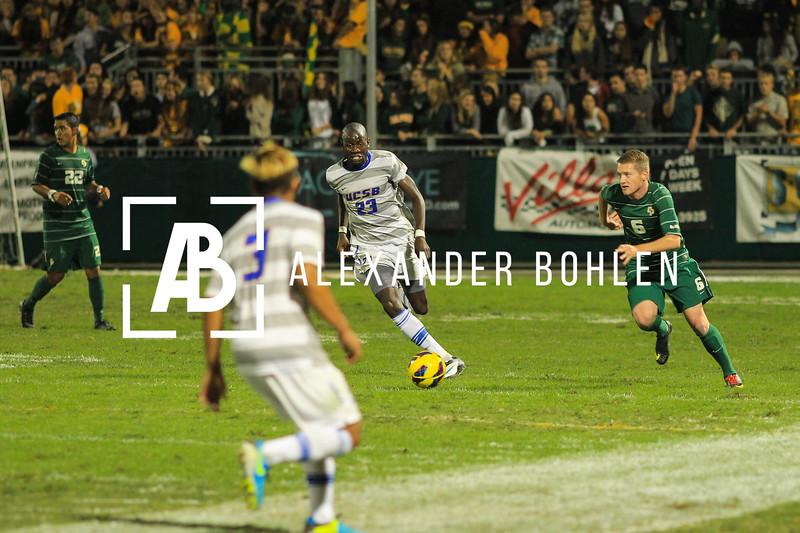 Cal Poly vs Santa Barbara. 1-1.