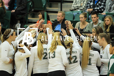 Cal Poly vs Santa Barbara. 0-3. Photo by Alexander Bohlen