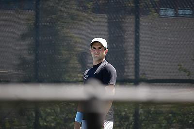 Cal Poly mens tennis at Santa Barbara and UCLA