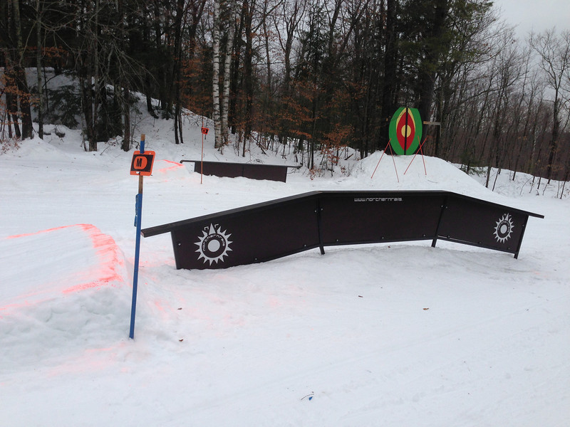 Jan 12 - A real park at Calabogie - what a concept. It is looking really good for this year.