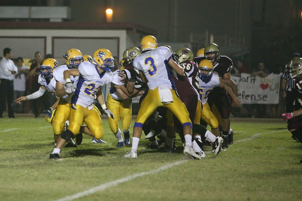 Oct 5, 2012 Calexico vs Brawley