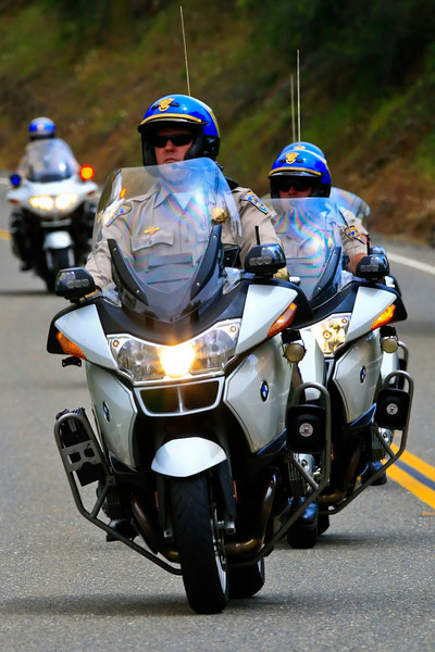 California Highway Patrol - Amgen Tour 2010