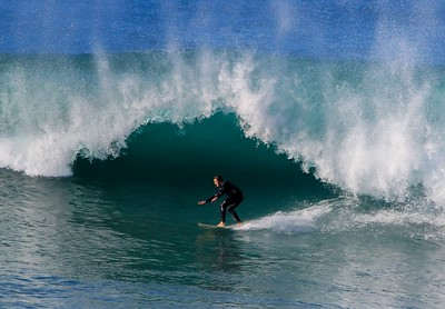 """An """"A"""" frame closeout spoiled this nice tube. Would have been one of the best tubes of the day."""