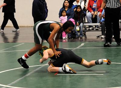 calvary vs bishop gorman wrestling 1-14-10