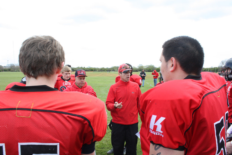 Talking tactics with Coach