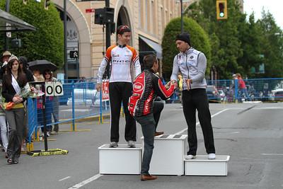 Cat 3 Men: 1.Jeffrey Werner (Escape Velocity), 2.Kyle Buckosky (Team Coastal), 3.Zachary Young (Local Ride Racing)