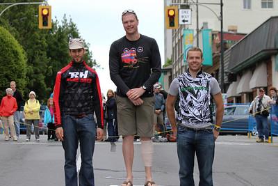 Cat 4 Men: 1.Gavin Eaton (Tripleshot-Spinnakers), 2.Raphael Lalumiere (Russ Hays Bike Shop), 3.James Cameron (Pro City Racing)