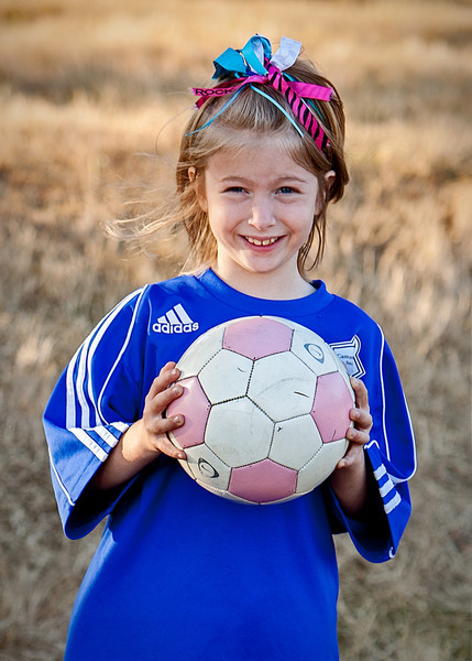 Chloe Soccer Team Pictures