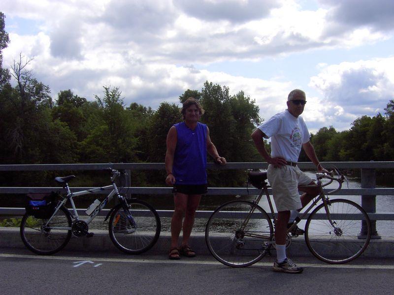 On Dewitville Bridge